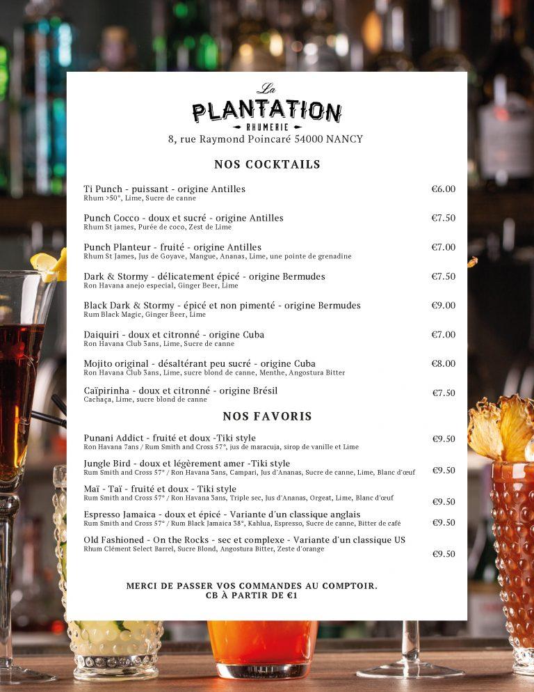 La Plantation - Page 1